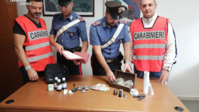 Photo of Diamante, trovato con la droga davanti alle scuole: arrestato