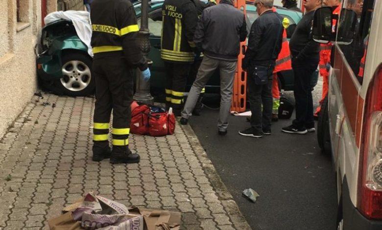 Sbatte contro un muro, un morto a Cetraro. A Surdo nuovo incidente stradale
