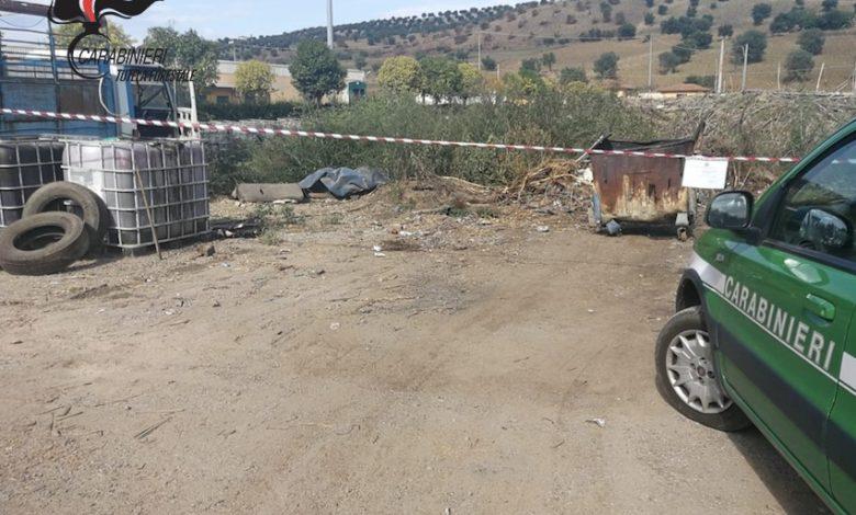 Smaltiva rifiuti bruciandoli in un cassonetto: denunciato