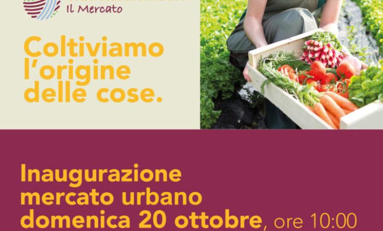 Domenica 20 ottobre l'inaugurazione del Mercato Urbano