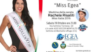 Photo of Miss Italia Calabria, si riparte da Settimo di Montalto