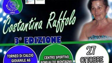 """Photo of III """"Memorial Ruffolo"""", la Romualdo Montagna invita tutti per il 27 ottobre"""