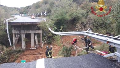 Photo of Crolla un viadotto sulla Savona-Torino, Italia flagellata dal maltempo