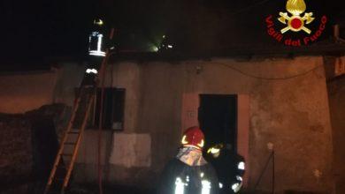 Photo of Incendio a Celico spento nella notte dai vigili del fuoco di Cosenza
