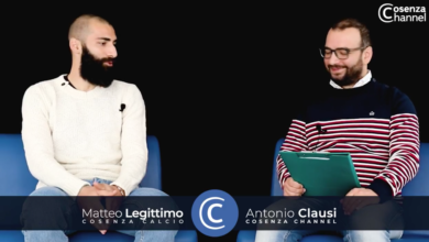 Photo of Matteo Legittimo a Cosenza Channel Interview: rinnovo e no al razzismo