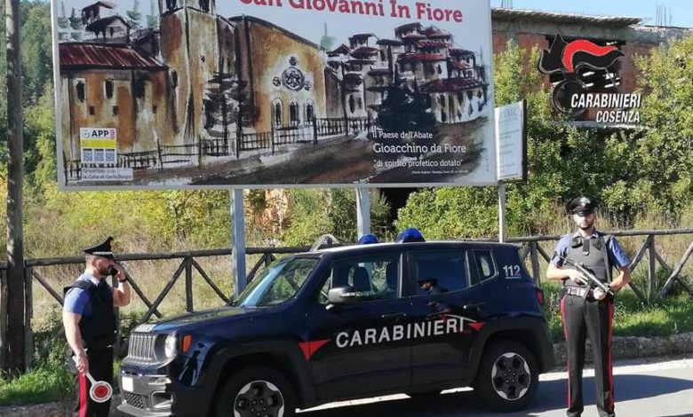San Giovanni in Fiore, denunciati quattro ragazzi per spaccio di droga