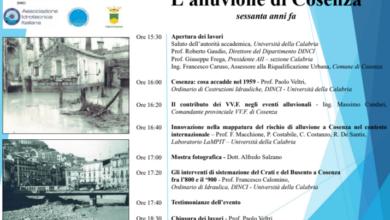 """Photo of All'Unical un seminario su """"L'alluvione di Cosenza sessanta anni fa"""""""