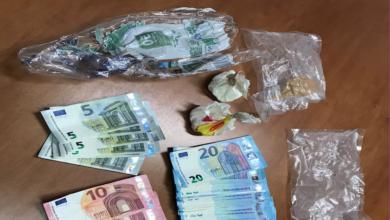 Photo of Trasportava cocaina e 1500 euro in contanti: arrestato dai carabinieri