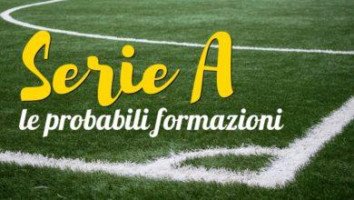 Photo of Serie A: le probabili formazioni della tredicesima giornata