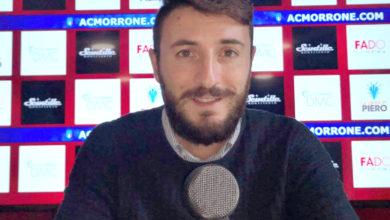 """Photo of Morrone, capitan Granata fissa un obiettivo: """"Che bella la finale di Coppa"""""""