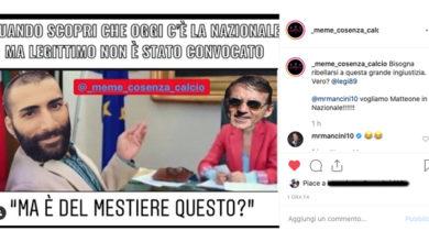 Photo of Legittimo in Nazionale? Il ct Mancini ci ride su e i social impazziscono