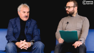 Photo of Franco Segreto a Cosenza Channel Interview, focus sui Lupi