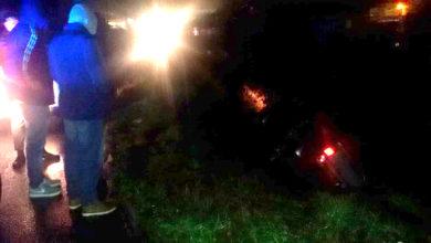 Photo of Maltempo, auto in un canalone a Rende. Illesi padre e figlio