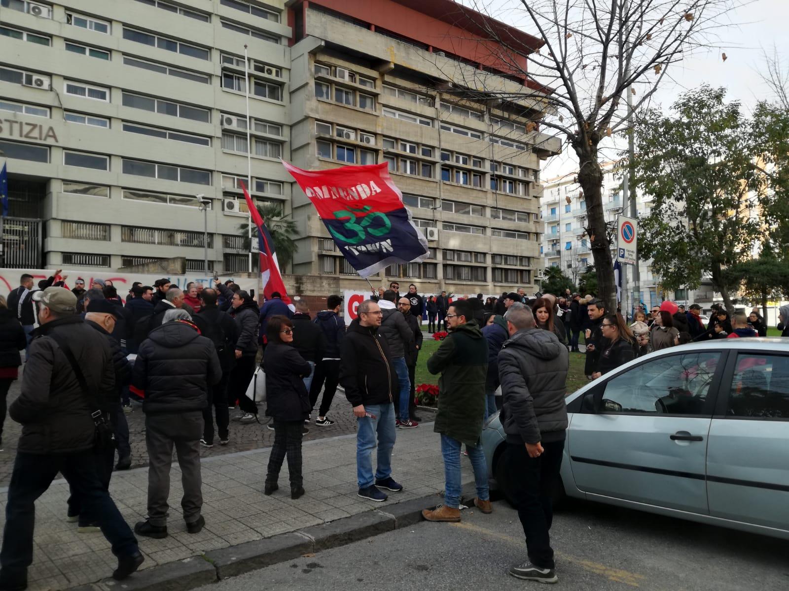 Inchiesta sulla morte di Denis Bergamini, le foto della manifestazione