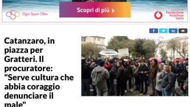 """Photo of Solo """"Repubblica"""" non snobba la manifestazione pro Gratteri"""