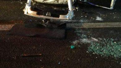 Photo of Auto si ribalta sull'Autostrada A2 del Mediterraneo: due feriti
