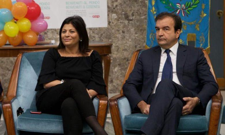 Jole Santelli e Mario Occhiuto ai tempi di Palazzo dei Bruzi