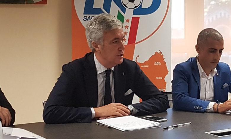 Cosimo Sibilia, presidente della Lega Nazionale Dilettanti