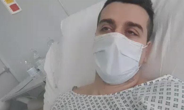 Mattia De Angelis, paziente affetto da Coronavirus