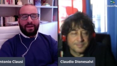 Photo of Dionesalvi a Cosenza Channel Interview: «25 aprile sempre!»
