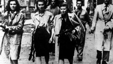 Donne partigiane durante la guerra. Il ricordo del 25 aprile