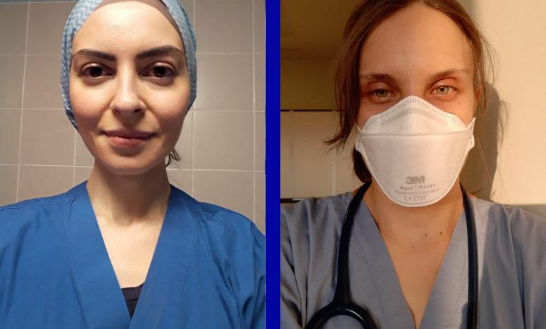 Gioconda Ferraro e Alessia Liguori, dottoresse in prma fila contro il Covid-19