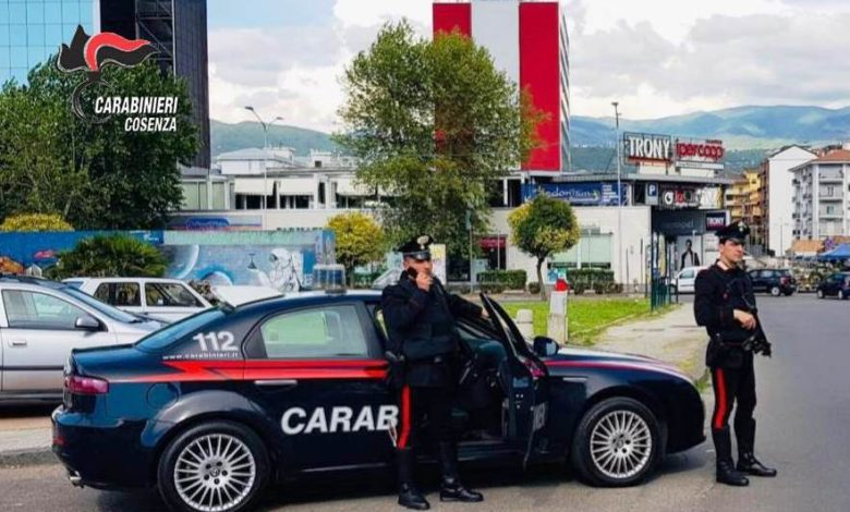 Rovito, carabinieri di Cosenza arrestano pregiudicato crotonese