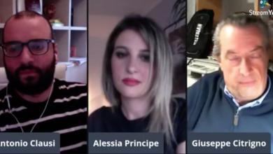 Pino Citrigno a Cosenza Channel Interview
