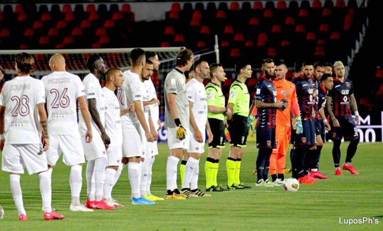 Cosenza-Trapani, il match disputato al Marulla è finito 2-2