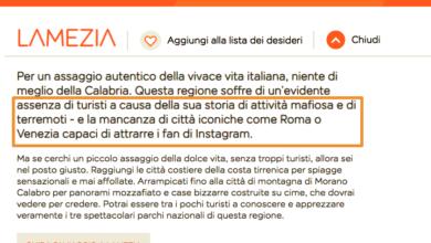 Photo of Easy Jet dà il suo benvenuto in Calabria: niente turismo e Instagram, solo terremoti e mafia