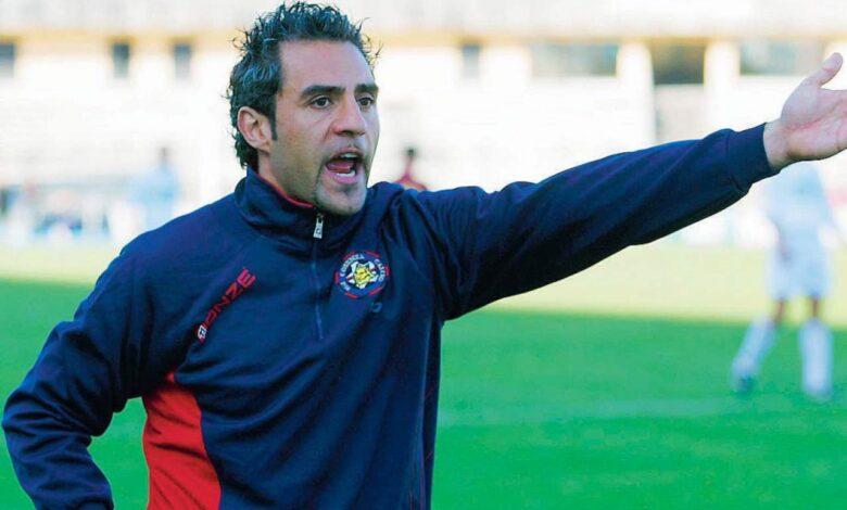 Mimmo Toscano, allenatore del Cosenza dal 2007 al 2010