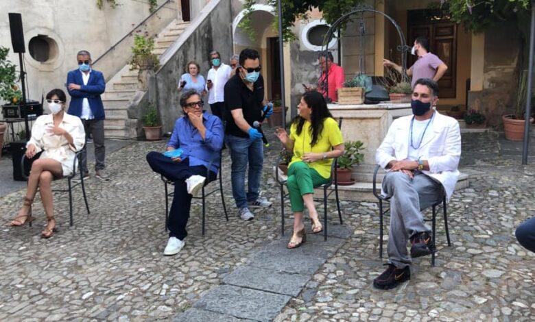 La conferenza stampa con Jole Santelli e Gabriele Muccino