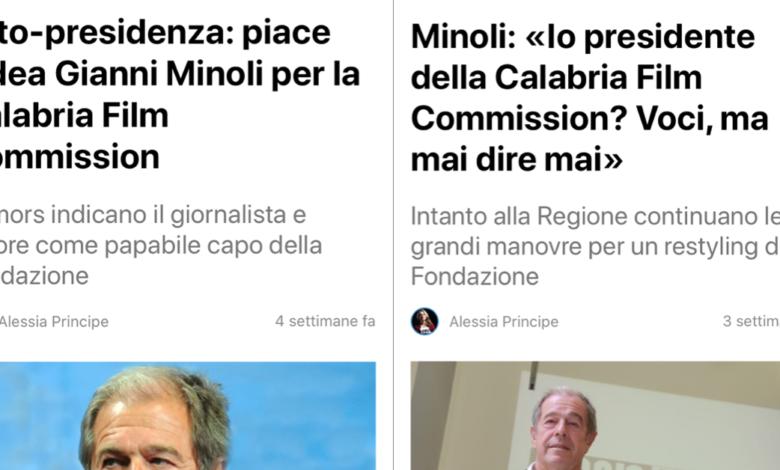 Photo of Calabria film commission, Minoli commissario straordinario