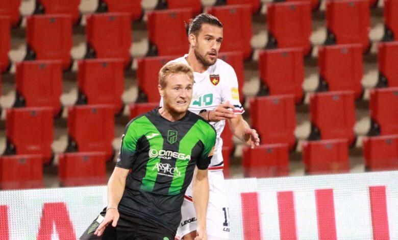 Casasola durante il match Pordenone-Cosenza (foto Ros)