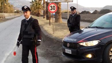 Photo of Alto Tirreno Cosentino, controlli dei Carabinieri: un arrestato e un denunciato