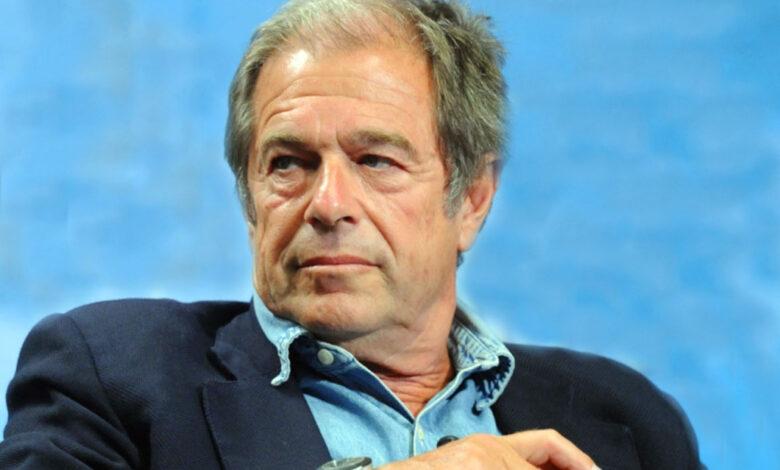 Il giornalista Giovanni Minoli