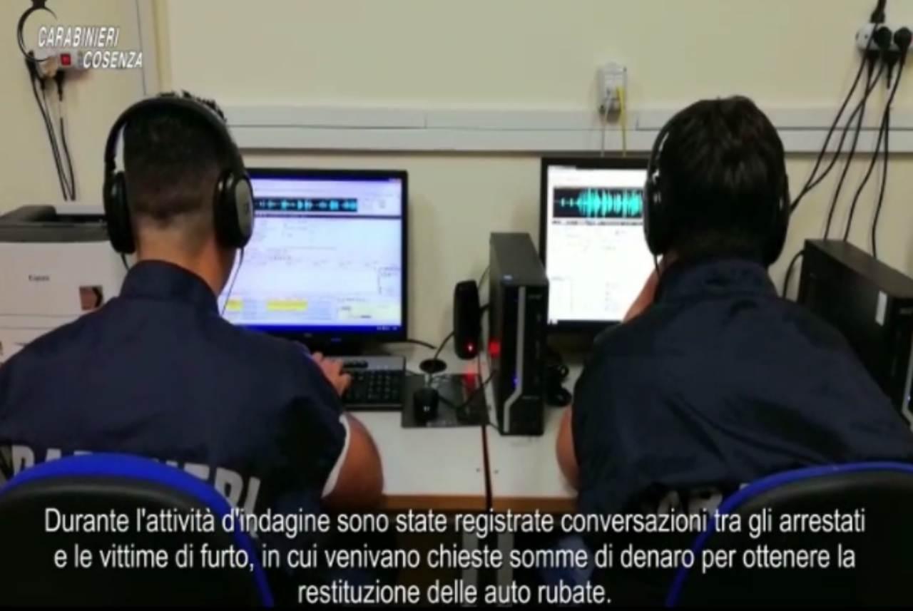 Estorsioni e furti a Cosenza, arrestate 13 persone VIDEO