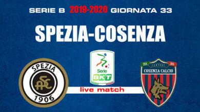 Photo of Spezia-Cosenza 2-0: il tabellino della gara giocata al Picco