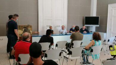 Photo of Il presidente della Provincia Iacucci incontra delegazione tirocinanti calabresi