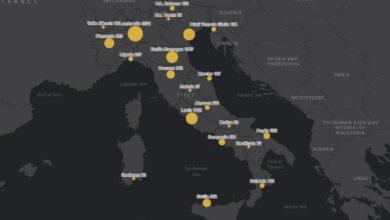 Photo of In Italia quasi 500 nuovi casi di coronavirus: oggi si contano dieci morti