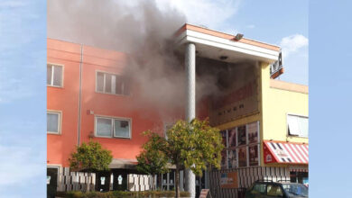 Photo of Incendio al River Village, Vigili del Fuoco in azione [VIDEO]