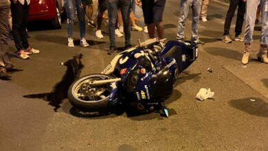 Photo of Scontro auto-moto: incidente nella notte in via Montesanto