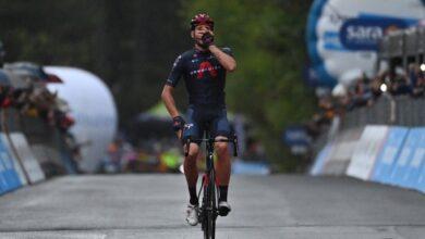 Photo of Giro d'Italia, a Camigliatello è un trionfo per Ganna
