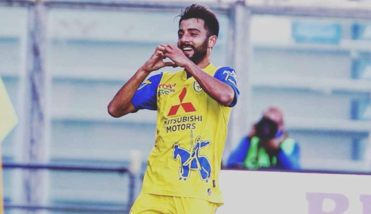 Reggiana-Chievo Verona, il cosentino Garritano firma il colpaccio gialloblù