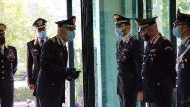 Photo of Carabinieri, il Generale Nistri in visita al Comando provinciale di Cosenza FOTO
