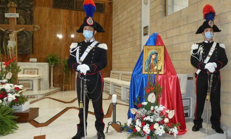 "Cosenza, i Carabinieri celebrano la celeste patrona dell'Arma, Maria ""Virgo Fidelis"""
