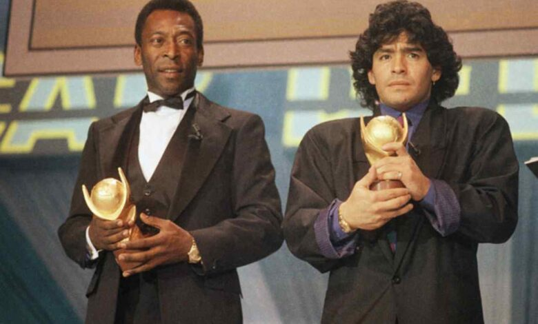 Addio Maradona, il messaggio di Pelè: «Giocheremo a calcio in cielo»