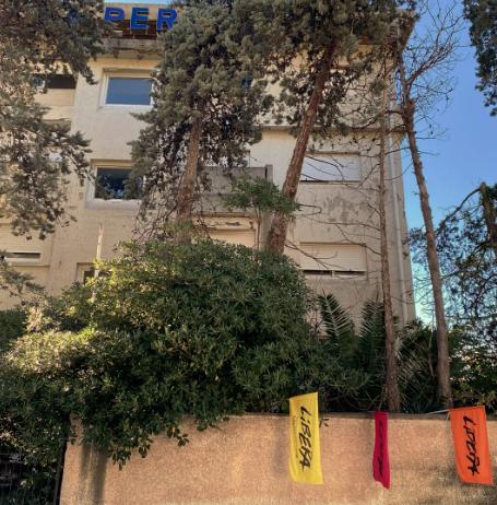 L'ex hotel La Perla