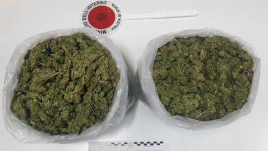 Corigliano Rossano, trasportavano 2 chili di droga: quattro arresti