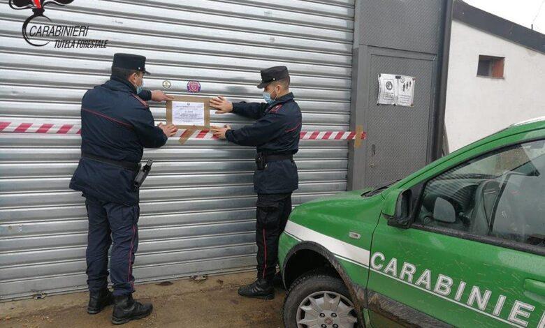 Torano Castello, smaltimento illecito di rifiuti in una autofficina